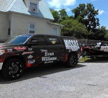 Missile Baits Truck & Boat Wrap