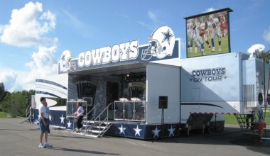 Dallas Cowboys Hall-of-Fame Mobile Exhibit